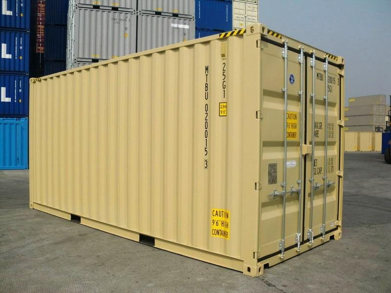 40 39 dd ral 1001 shipping containers. Black Bedroom Furniture Sets. Home Design Ideas
