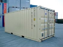 20' TAN  RAL 1001 shipping containers