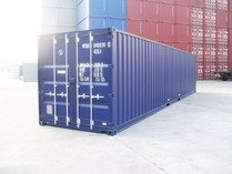 40' DV RAL 5013 shipping containers