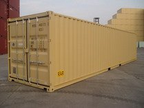 40' DD RAL 1001 shipping containers