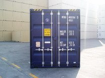 40' HC RAL 5013 shipping containers